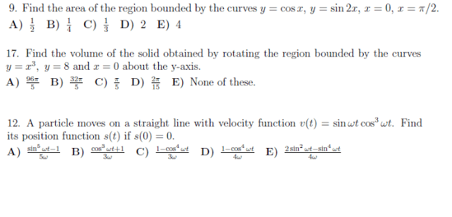 Volume of Rotation