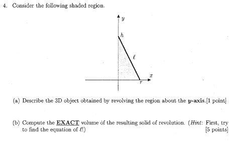 Show My Homework - Volume of Rotation