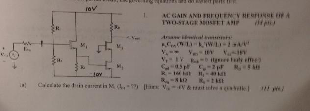 Show My Homework - Mosfet