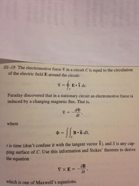 Show My Homework - Stokes Theorem