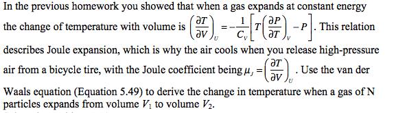 Show My Homework - Thermal Physics