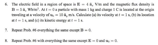 Show My Homework Electromagnetics